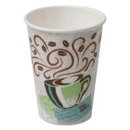 Hot Cups Paper 12OZ Coffee Dreams Design 500 Per Each Carton | 1 Carton of: 500