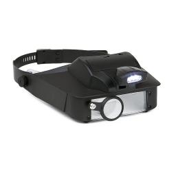 Carson lv-10 carson 2x3x5x6 led lighted head visor magnifier