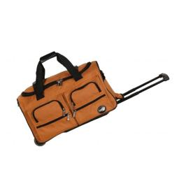 Rockland PRD322ORANGE 22 in. ROLLING DUFFLE BAG - ORANGE