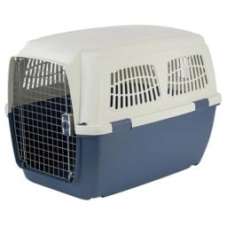 Marchioro 32926 Clipper Cayman 6 Pet Carrier, 36.5 in. Tan & Blue