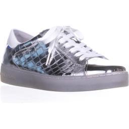 MICHAEL Michael Kors Frankie Fashion Sneakers, Silver Frankie Sneaker