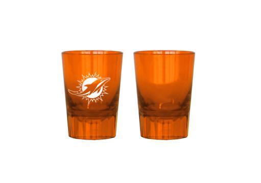 Nfl plastic shot glass miami dolphins (2 oz.)(orange)-nla 7WY29ILL7NH4FYNC