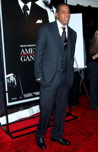 Jay Z At Arrivals For Premiere Of American Gangster To Benefit The Boys And Girls Clubs Of America, The Apollo Theater In Harlem, New York, Ny.