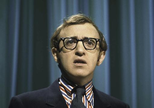 Woody Allen in Color Photo Print