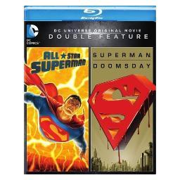 Dcu all-star-superman/superman doomsday (blu-ray/dbfe) BR596817