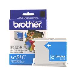 Brother International Corporat Lc51C Ink Cartridge - Cyan - 400 Pages At 5% Coverage - For Mfc-240C