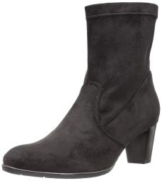 ara Women's Tate Mid Calf Boot, Black Micro Stretch, 3.5 Medium UK (6 US)