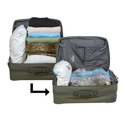 5 Star Super Deals 39-5OVD-GP6C Travel Saving Bag Set 4 Piece
