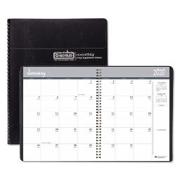 100% Recycled Two Year Monthly Planner With Expense Logs 8.75 X 6.88 2021-2022   Total Quantity: 1