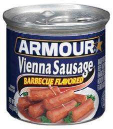 Barbecue Armour Star Vienna Sausage 4.75 oz Can