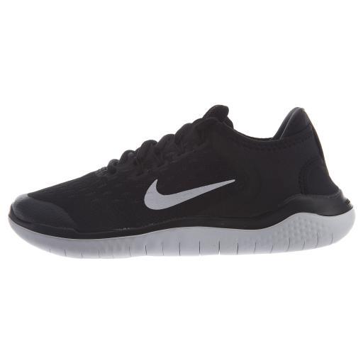Nike Free RN 2018 Running Shoes Black GS Youth Boys / Girls Style: AH3451