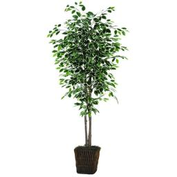 Vickerman TDX0260-0414 Variegated Deluxe Everyday Tree - 6 ft.