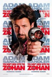You Don't Mess With The Zohan Movie Poster (11 x 17) MOV405984