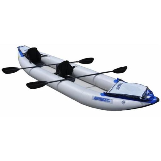 Sea Eagle Boats 420XK-P 420X Explorer Kayak Pro Package