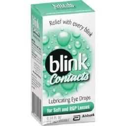 Blink Contacts Lubricant Eye Drops