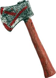 Zombie Hunter Axe Costume Accessory FW90271