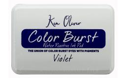 Cttkn08749 contact crafts koliver color burst ink pad violet