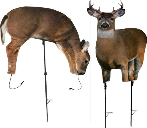 Montana decoy company 0070 montana decoy deer archers choice plot pack buck/doe