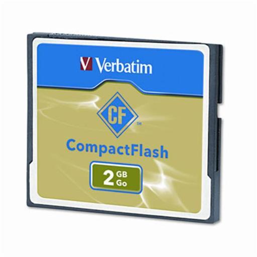 Verbatim 47012 Compact Flash Card 2GB BEC85F5085D49E03
