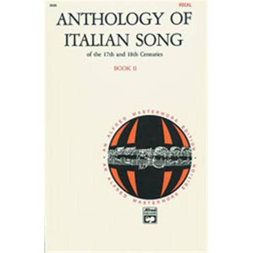 Alfred 00-3526 Anthology of Italian Songs of the 17th and 18th Centuries- Book 2 - Music Book