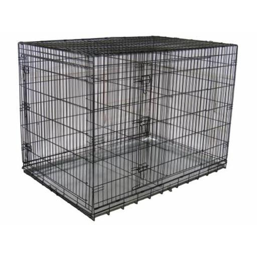 Go Pet Club MLD-54 54 in. Metal Dog Crate with Divider B1DBB5218C47A97B