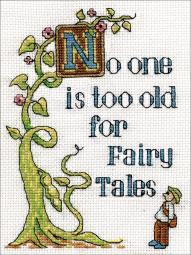 "Fairy Tales Counted Cross Stitch Kit-5""X7"" 14 Count 2960"