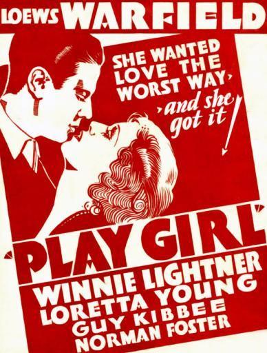 Play-Girl From Left On Us Poster Art: Norman Foster Winnie Lightner 1932 Movie Poster Masterprint