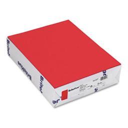 Mohawk 101337 Brite-Hue Color Copy/Laser/Inkjet Paper  Red  24lb  Letter  500 Sheets 101337