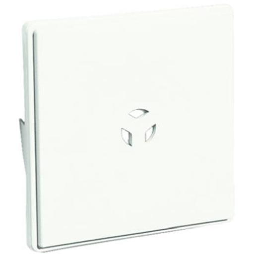 Builders Edge 130110008123 White Surface Block For Dutch Lap Siding