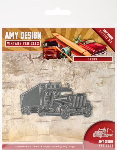Find It Trading Amy Design Vintage Vehicles Die-Truck