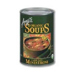 Amys Organic Low Fat Minestrone Soup - 14.1 Ounce