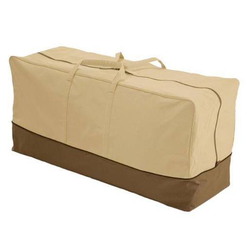 Veranda X-Large Patio Cushion Storage Bag Pebble - Beige