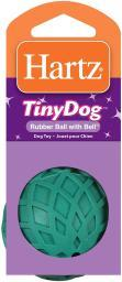 Hartz Dog Toy Rubber Ball With Bell Tiny Dog Durable Multi-material Toy