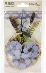 """Cottage Blooms 2"""" 12/Pkg-Bluebell"""