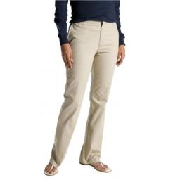 Dickies FP121DS 12 LN Womens Slim Boot Stretch Twill Pant, Desert Sand, 12 Long FP121DS  12 LN
