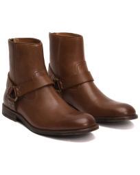 2e125cefc2a FRYE Jennifer Bootie Short Cowboy Boots, Charcoal