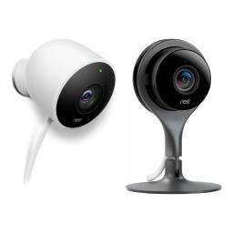 Nest Cam Indoor and Outdoor 1080p Video Home Security Camera NC2100ES & NC1102ES