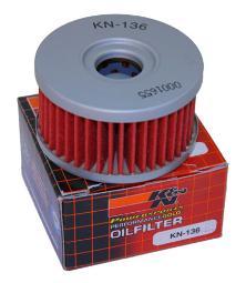 K&N Oil Filter Suzuki KN-136