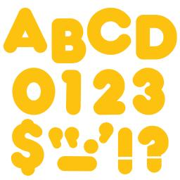 Trend enterprises inc ready letters 2 inch casual gold 88