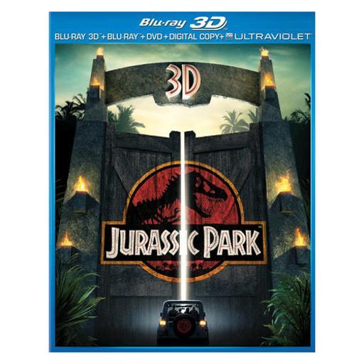 Jurassic park (3d) blu ray/dvd combo pack w/digital copy/ultraviolet (3-d) NWN9FDRIX2AYI89U