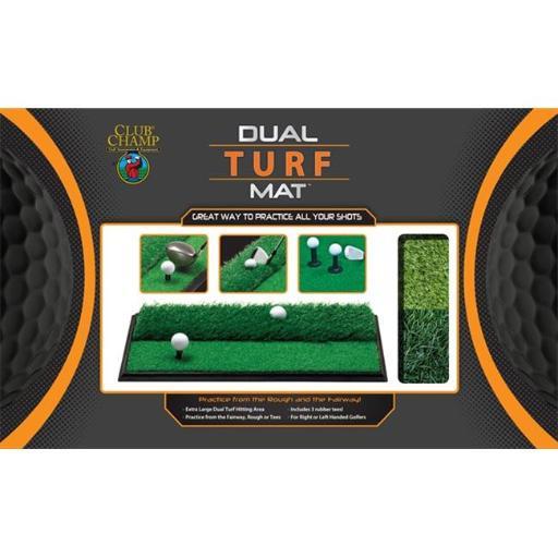 JEF World Of Golf 9182 Dual Turf Mat