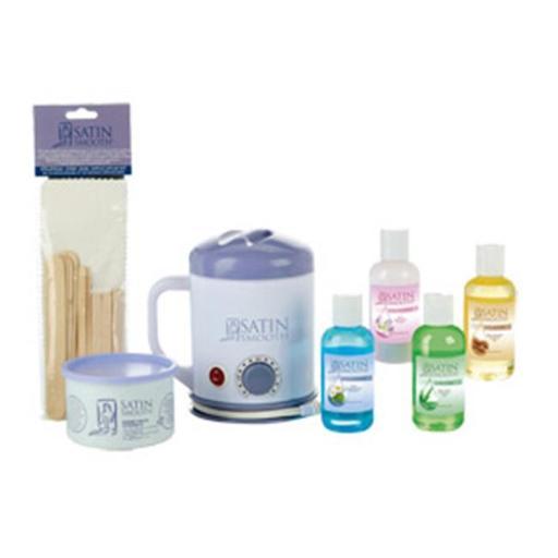 Satin Smooth Student Wax Kit Professional Warmer Honey - SSWSTU A7F566943943FF8B