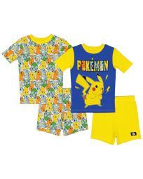 Ame 4pc Pokemon Pajama Set