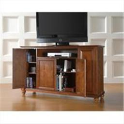 Crosley Furniture KF10001DCH Cambridge 60 in. TV Stand in Classic Cherry Finish