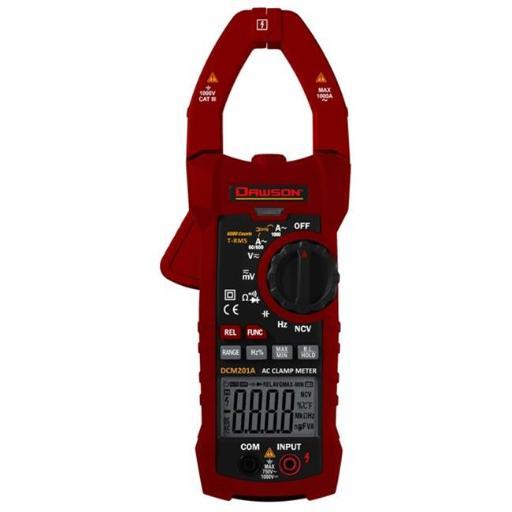 Dawson Tools DCM201A True Rms Digital Ac Clamp Meter
