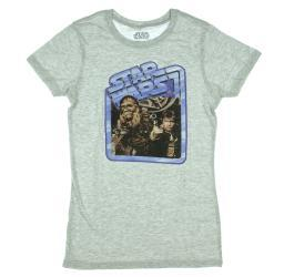 Star Wars Vintage Han Solo & Chewbacca T-Shirt