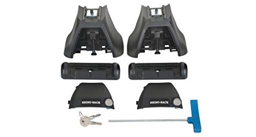 Rhino-Rack - Usa Rlkvah Roof Rack Leg 1/2 Kit - For Vortex Aero On Bare Roof Set Of 2 *Cu2014*