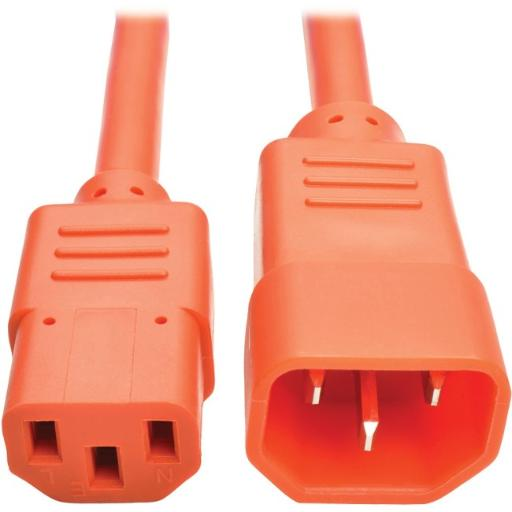 Tripp lite p004-006-aor 6ft computer power extension cord 10a