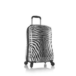 Heys International 13077-3040-21 21 in. Zebra Equus Fashion Spinner Luggage, Zebra