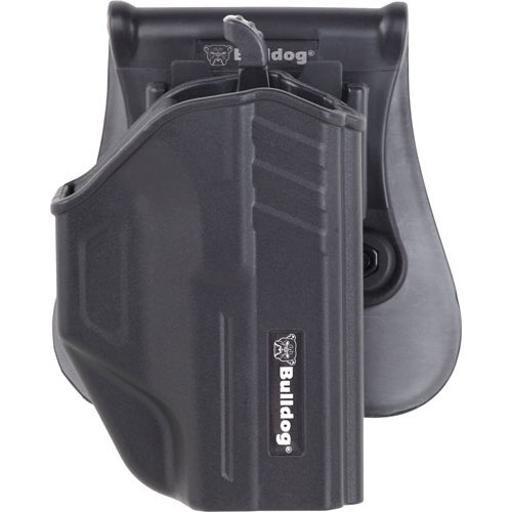 Bulldog tr-g42 bulldog thumb release holster paddle polymer glock 42 rh